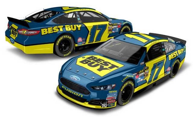Ford Fusion Рики Стенхауса-мл., вариант с титульным спонсором Best Buy, команда Roush Fenway Racing