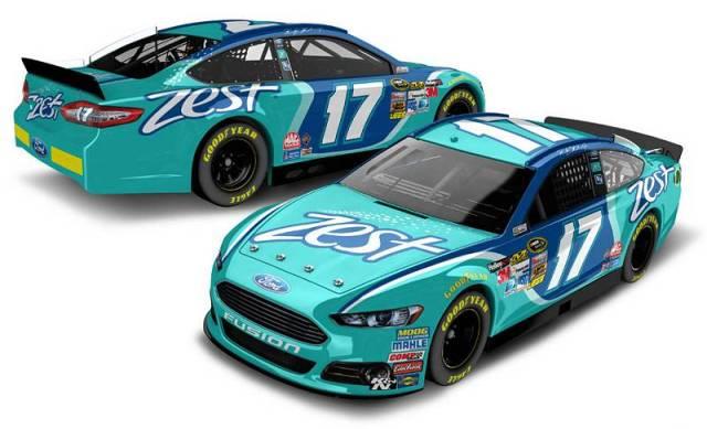 Ford Fusion Рики Стенхауса-мл., вариант с титульным спонсором Zest, команда Roush Fenway Racing