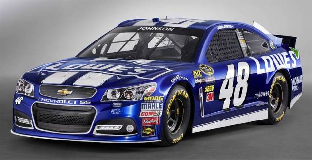 Chevrolet SS Джимми Джонсона, команда Hendrick Motorsports