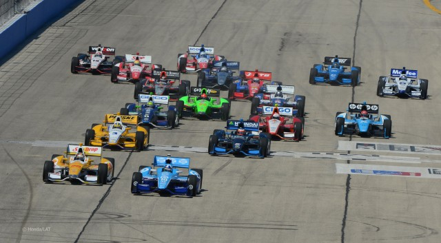 2012 IndyCar Milwaukee