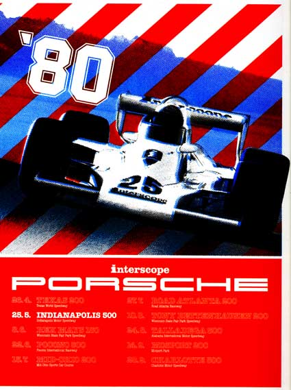 Interscope Porsche Poster 1