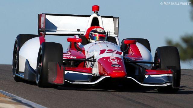 Новый пилот команды Dale Coyne Racing, Франческо Драконе, один работал со старой аэродинамикой