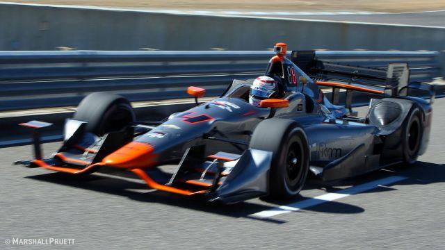 Стефано Колетти многих удивил своей скоростью во вторник, ведь новичок ИндиКара только вчера познакомился с трассой в Барбере